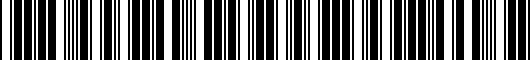 Barcode for 3B7601171XRW
