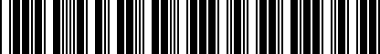 Barcode for 5N0071741