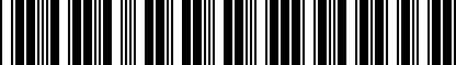 Barcode for DRG007898